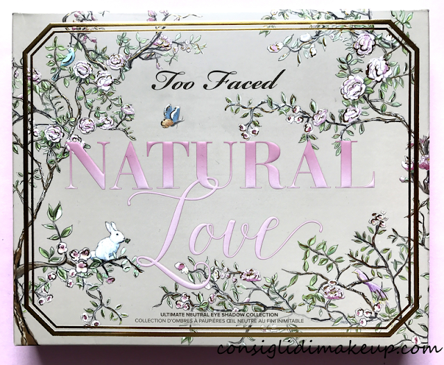 nuova palette too faced natural love
