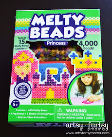 Princess Melty Beads from CraftProjectIdeas.com
