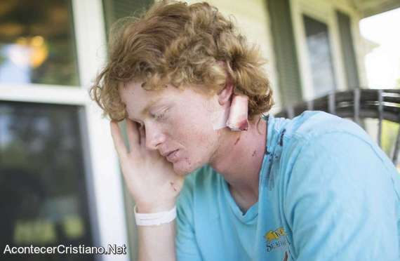 Joven sobreviviente a tiroteo en escuela de Estados Unidos