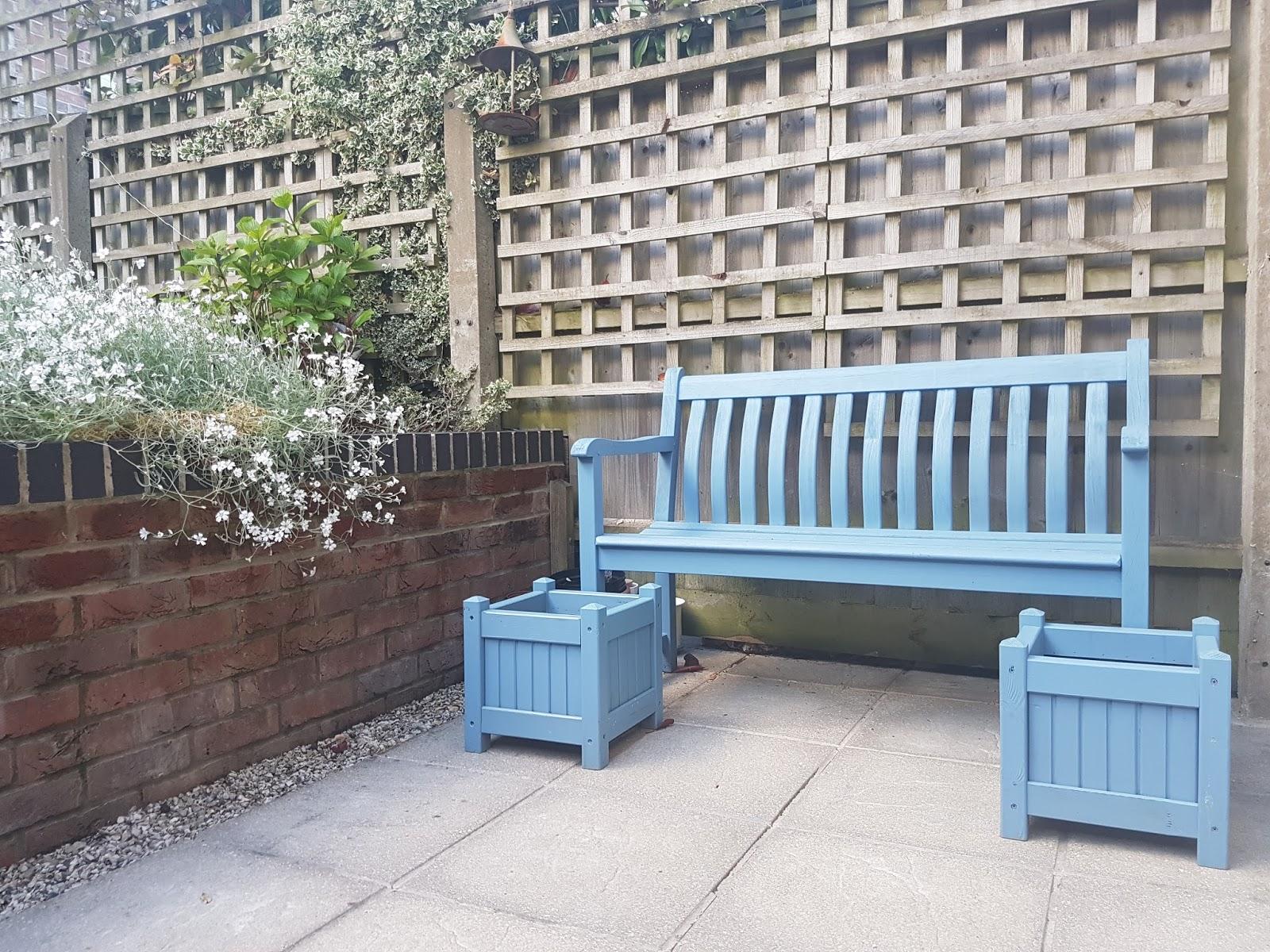 Revamped garden furniture