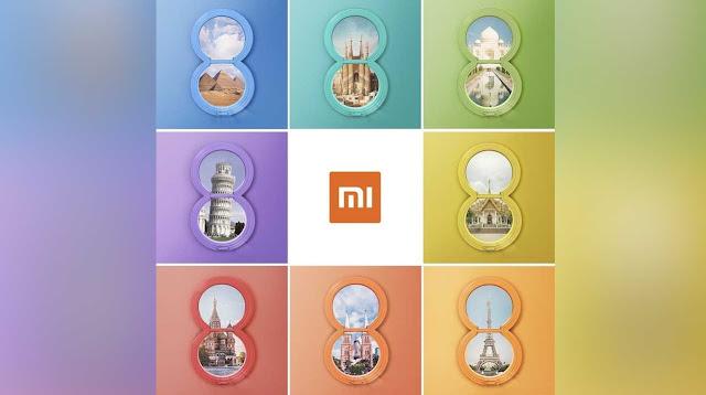 Sebuah Poster Ungkap Xiaomi Bakal Dijual Xiaomi Mi 8 ke Luar Cina