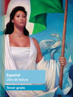 Español libro de lectura Tercer grado Ciclo Escolar 2016-2017