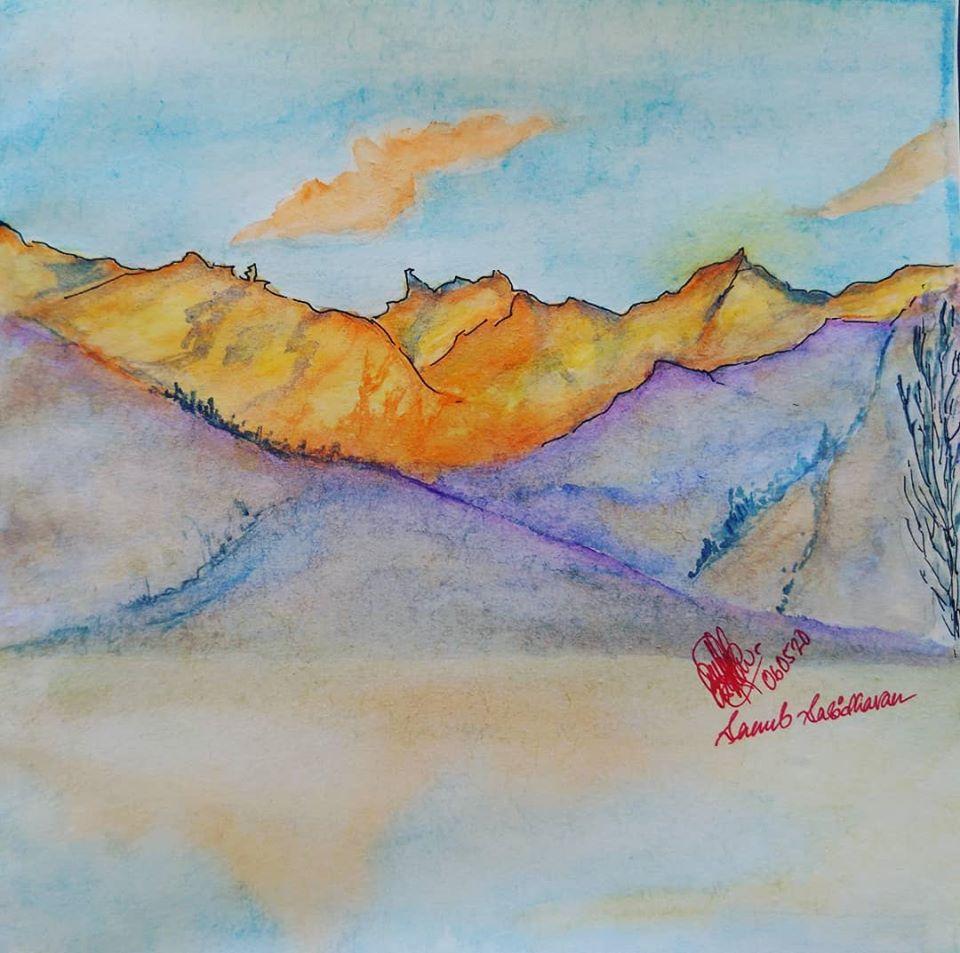 bROKEN dREAMS water painting