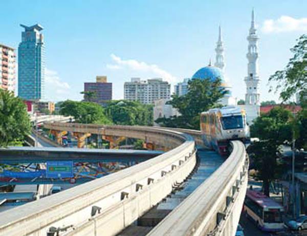Medan Tuanku Monorail.