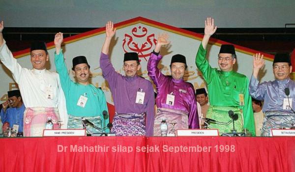 Dr Mahathir silap sejak September 1998