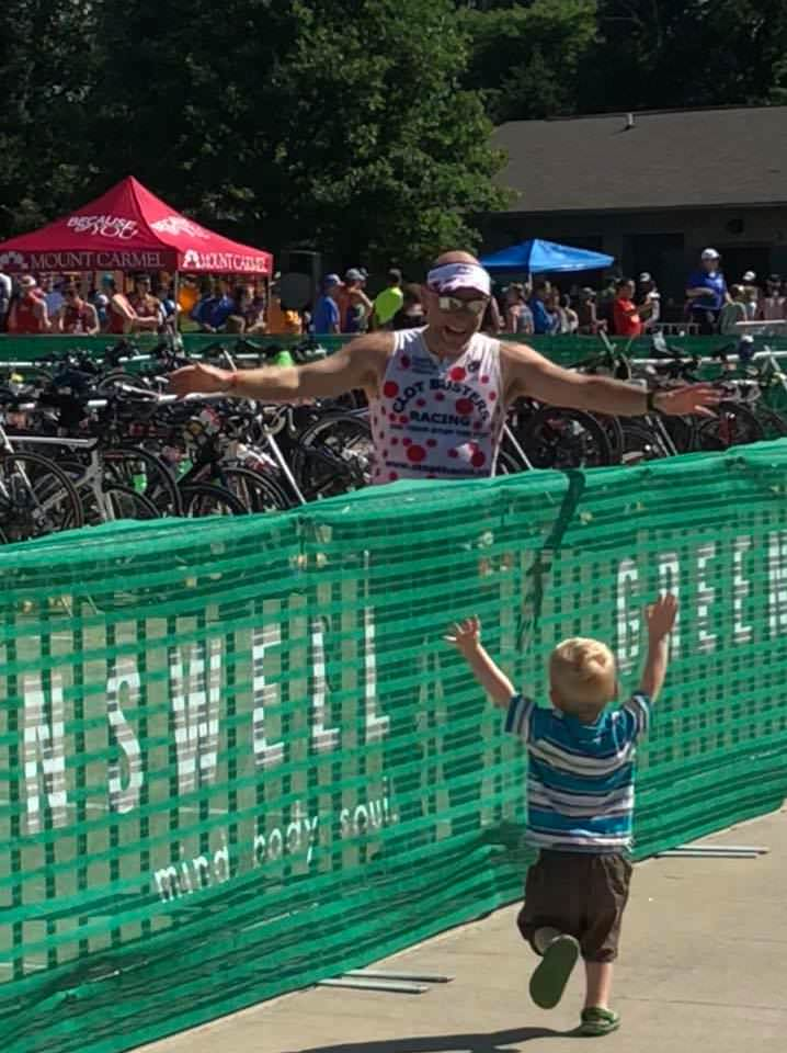 My 95th Triathlon Finish !!!