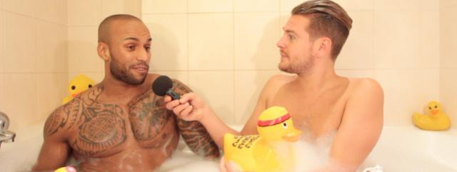 Dimitri (Les Anges 8) dans le bain de Jeremstar - INTERVIEW