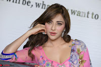 Actress Angela Krislinzki in Pink Saree Blouse Exclusive Pics March 2017 ~  026.JPG