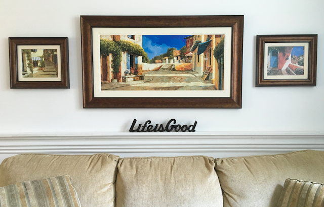 Hallmark Gifts for Father's Day - Life is Good Sentiment Sign