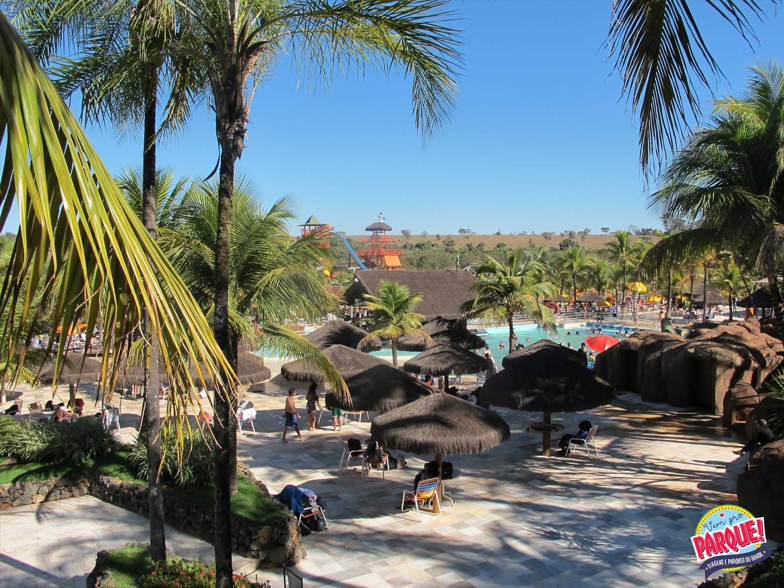 Parque Aquático Thermas dos Laranjais em Olímpia