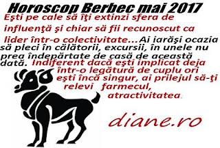Horoscop mai 2017 Berbec