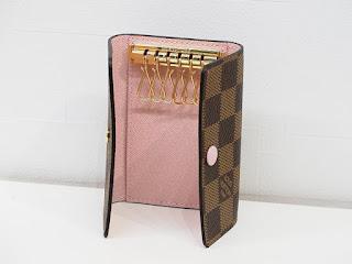 ルイヴィトンのキーケースをお買い取り致しました N41624 ダミエ ローズバレリーヌ