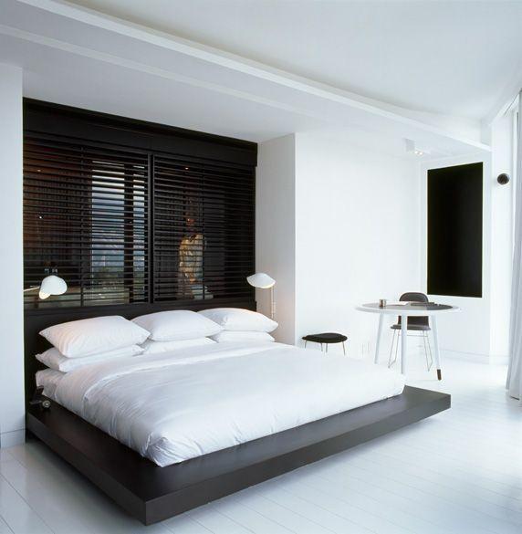 warna cat kamar tidur hitam putih 2