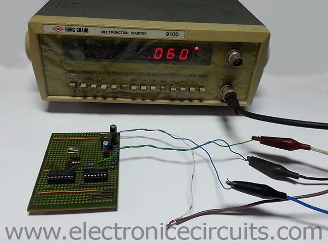 60 Hz Clock Pulse Generator Circuit Diagram Tradeoficcom