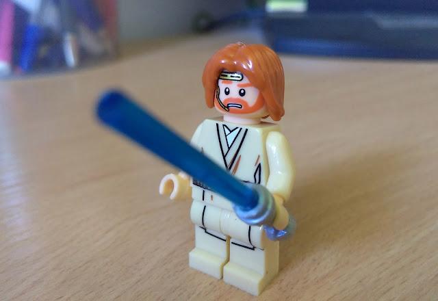 Оби-Вана Кеноби джедай фигурка лего купить