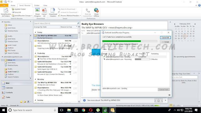 Panduan Setup Zoho Mail Domain Sendiri Ke Microsoft Outlook 2013