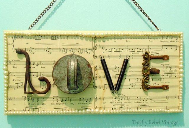 Love junk sign