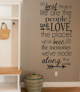 Quotes untuk hiasan dinding ruang tamu minimalis