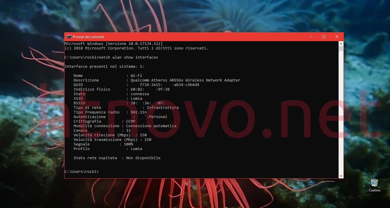 Visualizzare-potenza-segnale-Wi-Fi-Windows-10