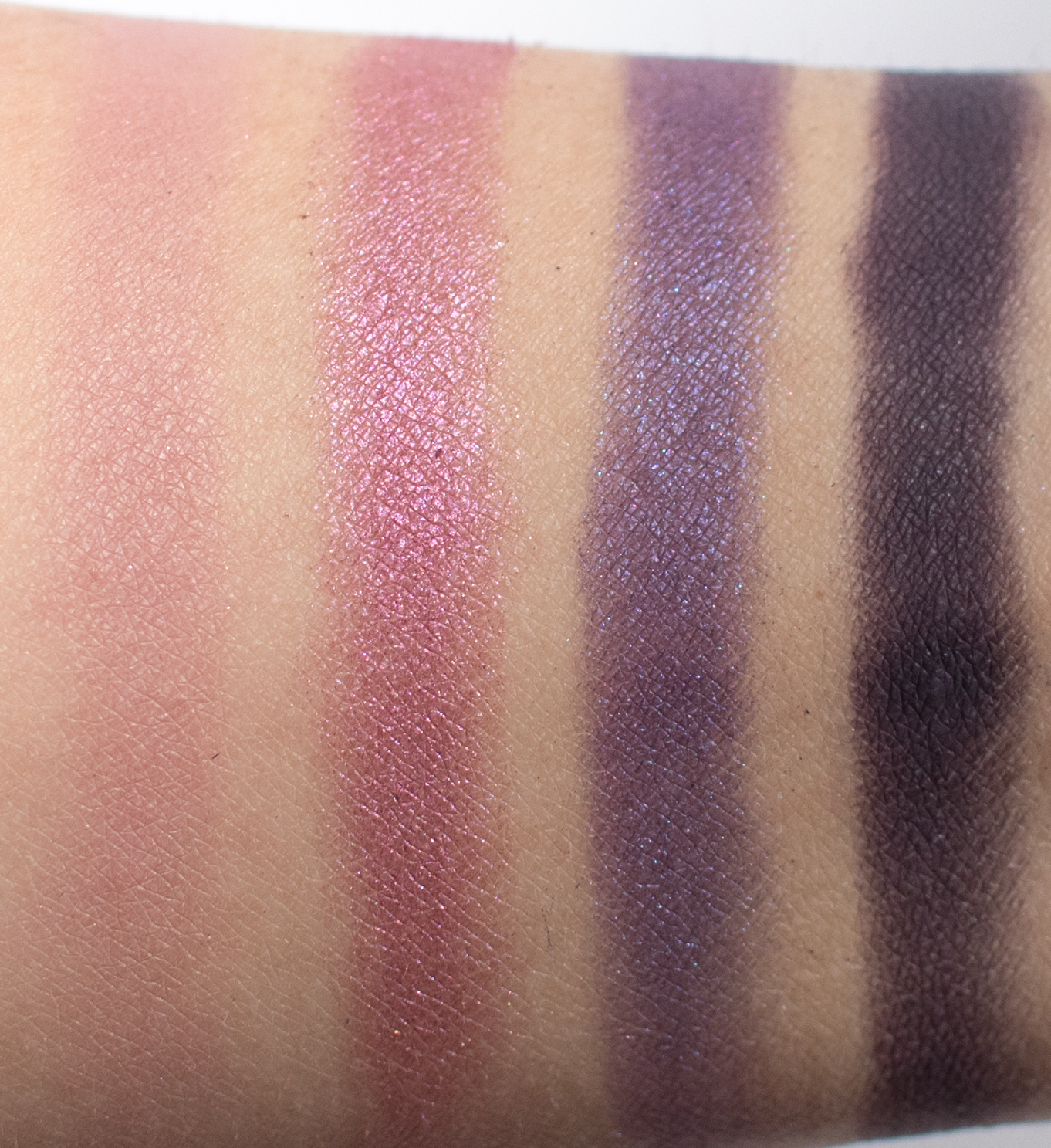 MAC x Patrickstarrr Stay With Me Swatches