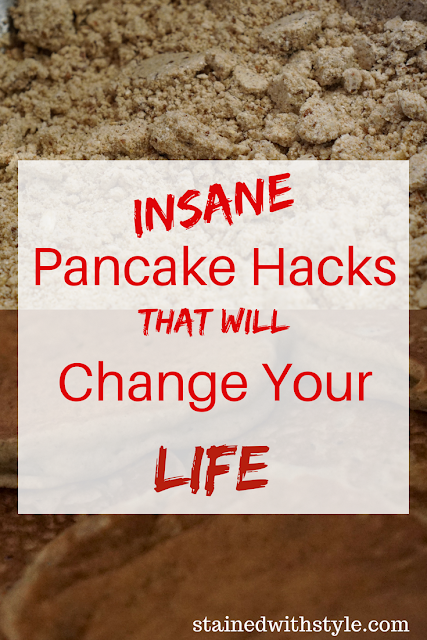 Pancake mix that is delicious and easy to store