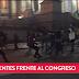 Incidentes frente al Congreso en una protesta por la aparición de Santiago Maldonado
