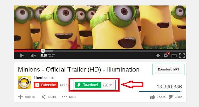 كيفية أضف هذا الخيار إلى اليوتوب أسفل كل فيديوهات لتحميلها دائما mp4 أو mp3 بسهولة