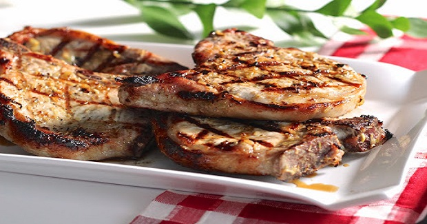 Grilled Lemongrass Pork Chops Recipe