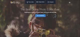 BeFunky - Aplikasi Edit Foto Terbaik di Komputer PC dan Laptop
