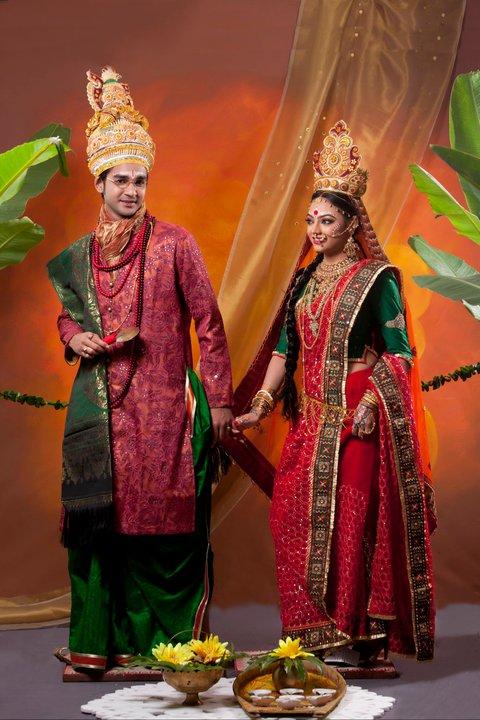 Wedding photos of bangladeshi celebrity