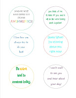 Lunchbox Notes Printables