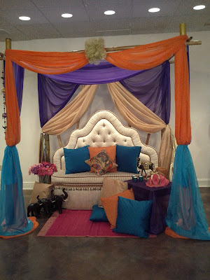 Moroccan theme gazebo decoration for baby shower decoration