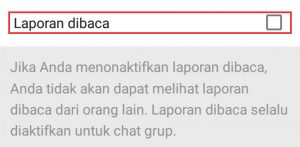 laporan Whatsapp