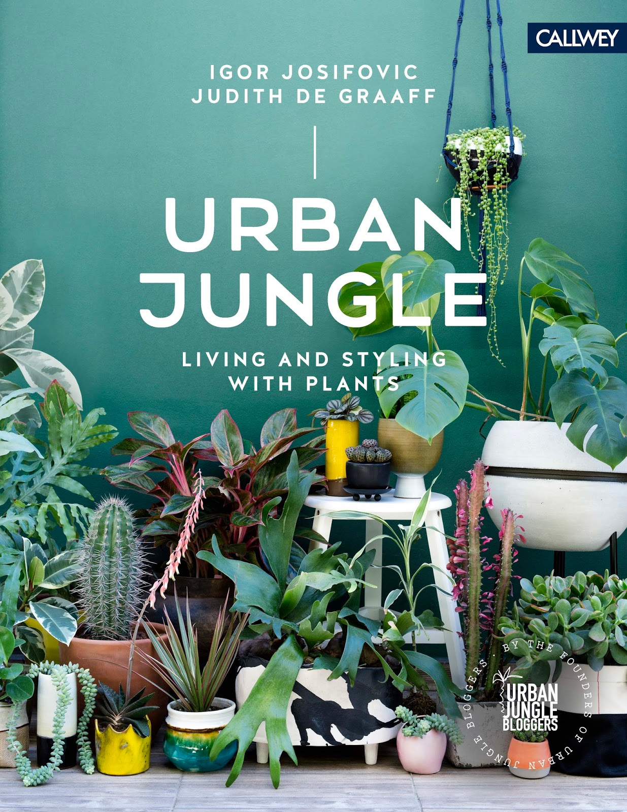 Urban Jungle book, plant styling