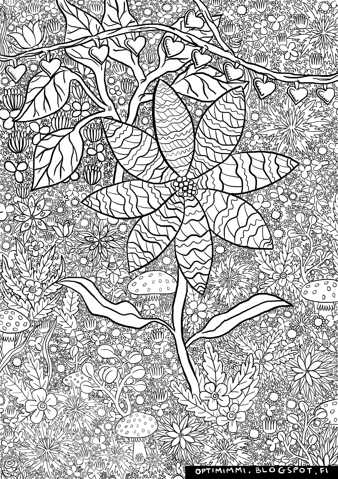 OPTIMIMMI 2016 Coloring pages
