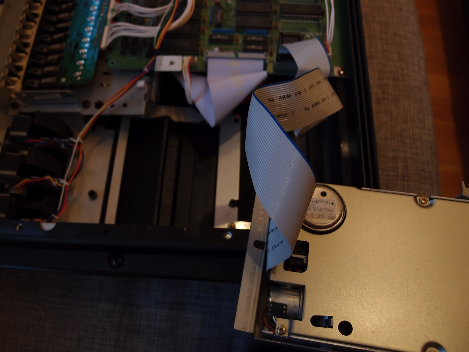 A to Synth: SY77 floppy drive repair/replacement