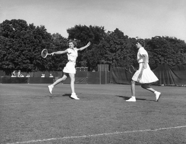 Female Tennis Players 1970S
