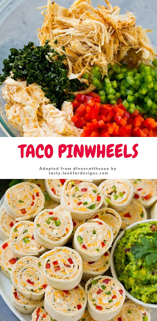 Best Taco Pinwheels Recipe