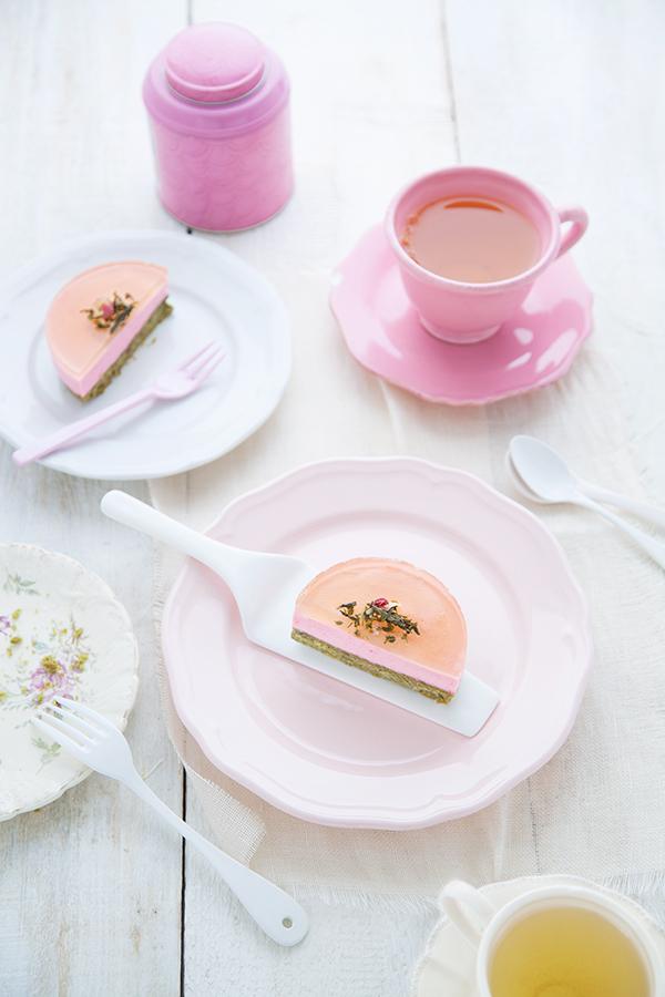 Petits gâteaux thé vert & cerise