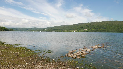 Lakeshore of Coniston Water at Hoathwaite