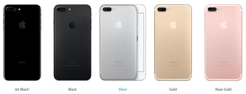 Details and photos of the new Apple iPhone 7 & iPhone 7 Plus