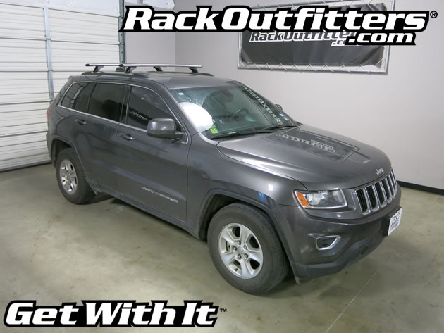 New Jeep Grand Cherokee Rhino Rack Vortex Rlcp Aero Silver