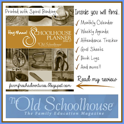 Hey Mama! Print Schoolhouse Planner Review