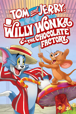 Tom & Jerry Willy Wonka And The Chocolate Factory 2017 DVD R1 NTSC Latino