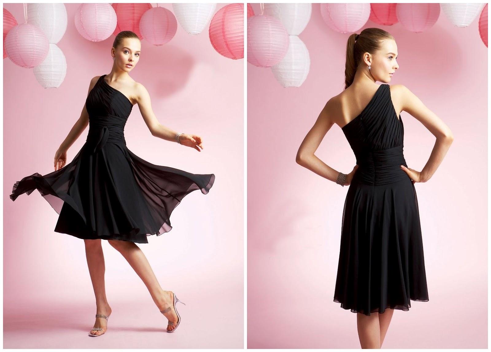 Cheap Black N White Wedding Dresses: WhiteAzalea Bridesmaid Dresses: Black Bridesmaid Dresses