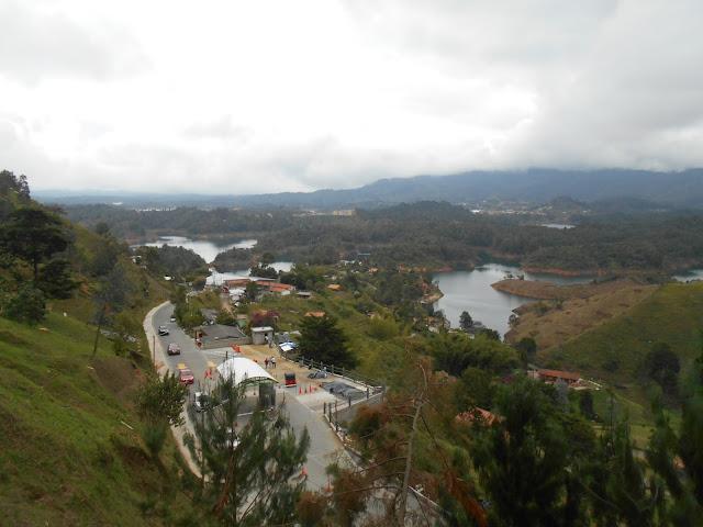 Guatape from El Penol