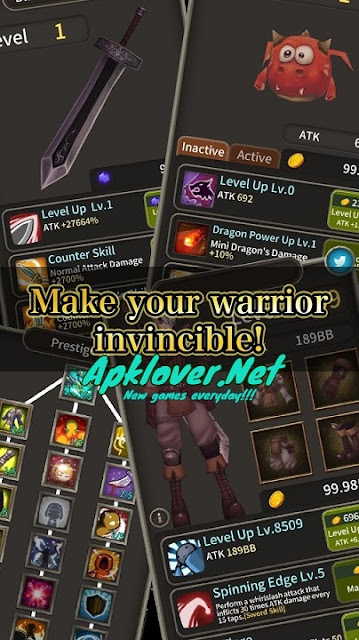 Knights of Dungeon MOD APK unlimited money