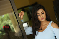 Anisha Ambrose Latest Pos Skirt at Fashion Designer Son of Ladies Tailor Movie Interview .COM 1138.JPG