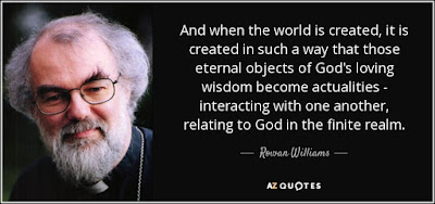 World's Best Love Quotes:  And when the world is created, it is created in such a way that those eternal objects of God's