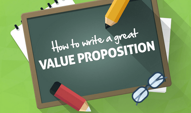 How to write a good value proposition